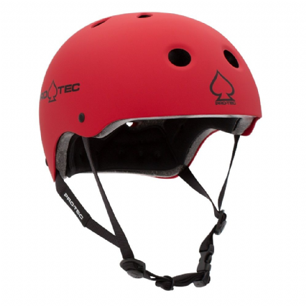 Pro-Tec Classic Certified Helmet Matte Red Medium
